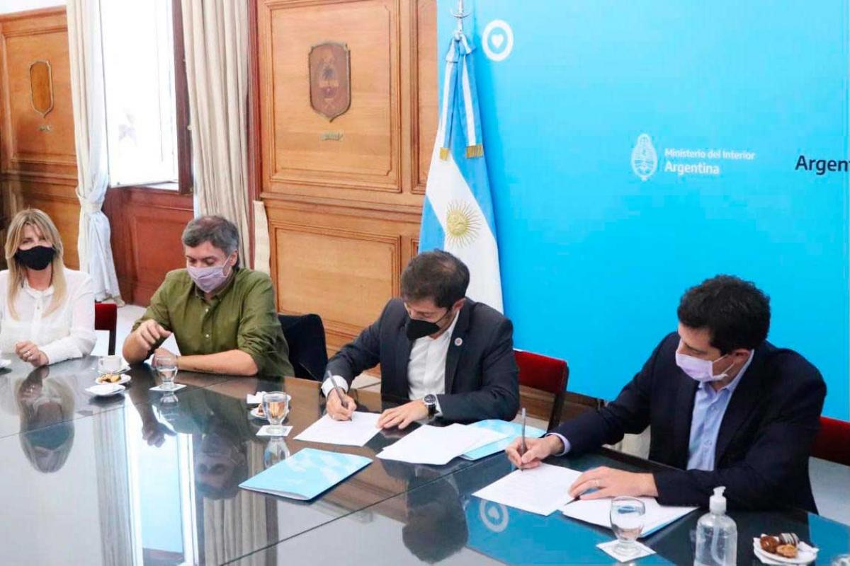 En Casa Rosada, Fassi participó del lanzamiento de un programa de financiamiento de obras